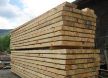 Stavební řezivo - fošny trámy